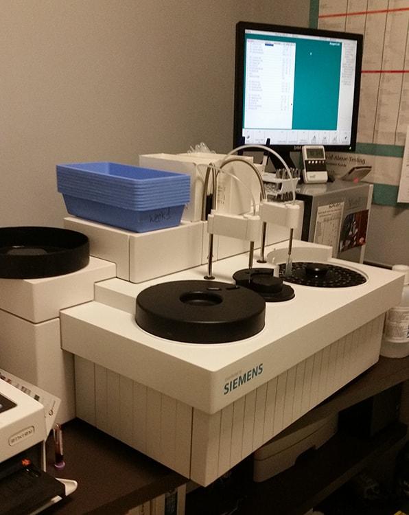 servicios de laboratorio acreditado