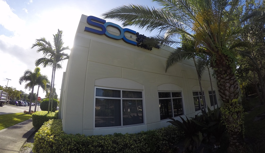 SOC orthopedic doctor office south florida