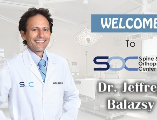 SOC Welcomes Orthopedic Surgeon, Dr. Jeffrey Balazsy