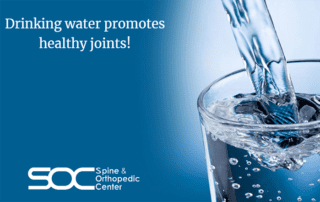 drinking water for joint pain relief