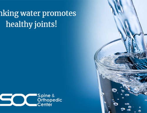 Dealing With Joint Pain? You Need to Drink More Water