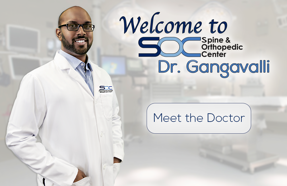 Welcome Dr. Anup Gangavalli