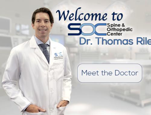 Spine & Orthopedic Center Welcomes Sports Orthopedic Surgeon, Dr. Thomas Riley, IV