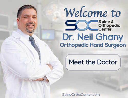 Spine & Orthopedic Center Welcomes Hand Surgeon, Dr. Neil Ghany